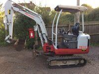 Mini digger hire, Micro digger plant hire Bristol From £50 Dumper hire