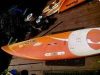 Windsurfer fanatic 258 waveboard