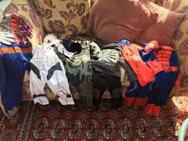 Bundle of fancy dress outfits