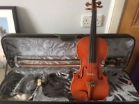 Violmaster (1994) full 4/4 violin with all accessories