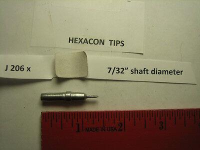 Hexacon J 206x Soldering Tip 732 Diameter Weller Et Fits Weller Wes