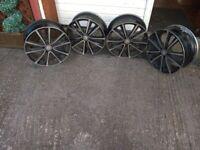 Genuine Alloy Mercedes Wheel Rims For 2015 B180 CDI Mercedes