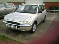 Daihatsu serion e 5dr small hatch back