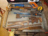 alsortment of tools