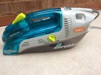 Vax Spot Scrubber Handheld Carpet Washer, excellent condition, barely used