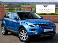 Land Rover Range Rover Evoque SD4 PURE (blue) 2013-03-28