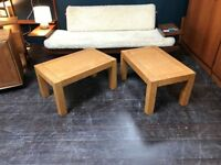 Pair of Birdseye Maple Coffee Tables by G Plan. Retro Vintage Mid Century
