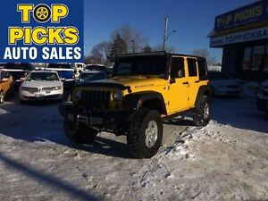 2009 Jeep WRANGLER UNLIMITED RUBICON UNLIMITED, NAVIGATION, 6 SP