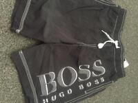 Boss swim shorts age 10