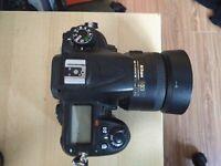 Nikon D7000 with 35mm 1.8 Lens