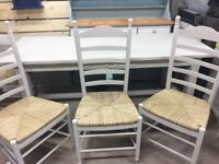 Large French table and chairs