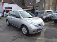 2005 Nissan Micra 1.2 16v S 3dr VERY LOW MILES 46910 FULL S/H