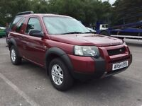 LAND ROVER FREELANDER NEWER SHAPE 2.0 DIESEL AUTOMATIC TD4 GOOD DRIVE MOT TOWBAR TOWING NOT ESTATE