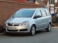 Vauxhall Zafira 1.6 Active (2006/06) + 7 SEATER + GENUINE 90K + FSH + NEW SHAPE +