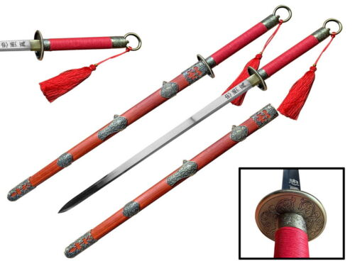 """41"""" Traditional Chinese 1045 Carbon Steel """"Hua Mu Lan"""" Sword Tai Ji Kung Ku Jian"""