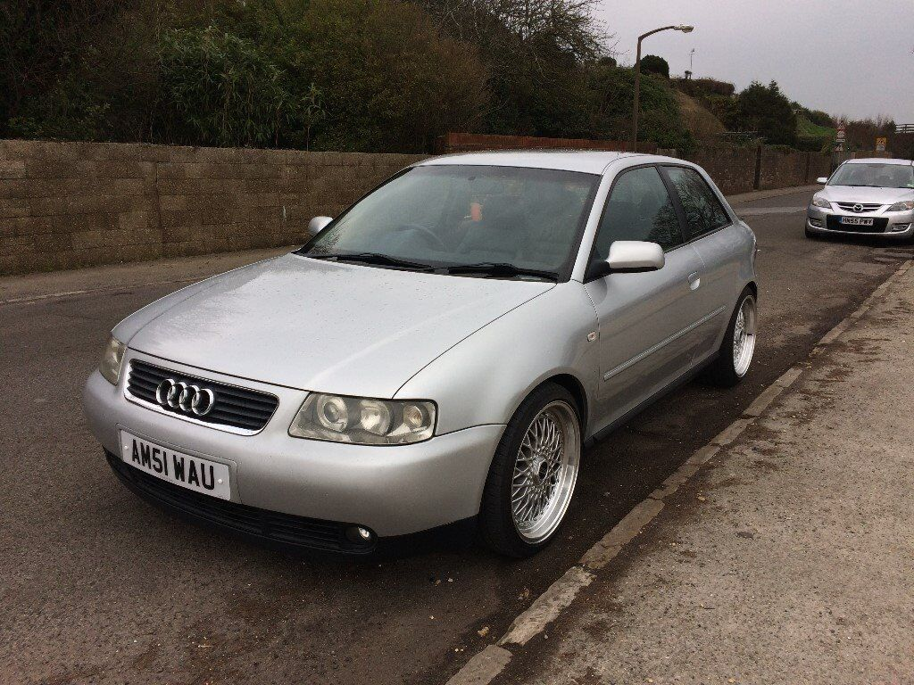 2002 audi a3 1 8t 3 door silver in poole dorset gumtree. Black Bedroom Furniture Sets. Home Design Ideas