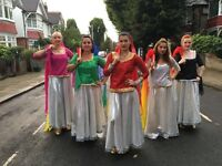 Professional Bollywood Dancers / Dance Troupe (Bellydancers, Sega dancers & Samba dancers available)