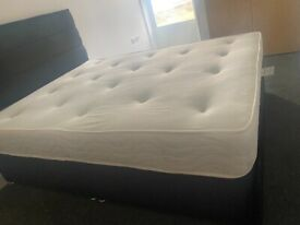 King size bed frame - brand new