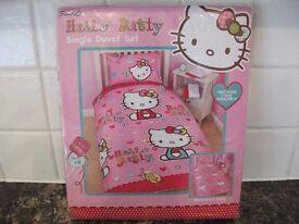 Hello Kitty duvet cover £8 ono