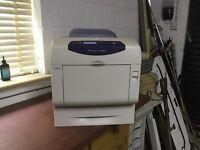 Office printer - Xerox Phaser 6360DN printer - prints 40ppm colour and black & white