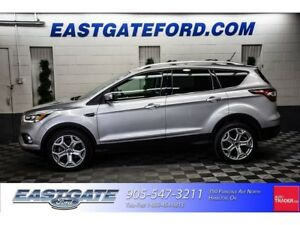 2018 Ford Escape Titanium Executive Unit -$1000 Costco + Winter