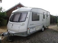 Award winning 1996 Northstar Elite 4 Berth Caravan with lots of extras
