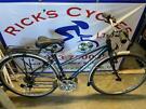 "Ridgeback Velocity 17"" Frame Ladies Hybrid Bike. Serviced, Great Condition"
