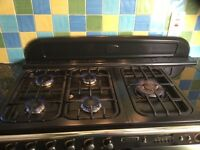 Leisure Classic 110 dual fuel BLACK range cooker