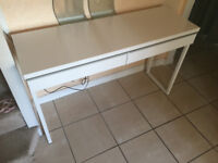 High-gloss white DESK for SALE just £80!!