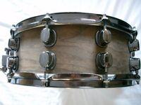 "Mapex Mahogany-ply snare drum - 14 x 5 1/2"" - prototype - Ex -Oasis"