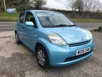DAIHATSU SIRION S BLUE 1.3 5DR 2005 1 OWNER FSH LOW MILES