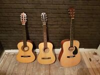 3 Guitars for sell job lot or individually from £25