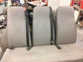 VW Rear seats