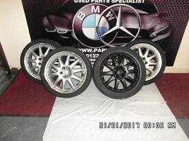 """FORD 18"""" ALLOYS WITH TYRES X4."""