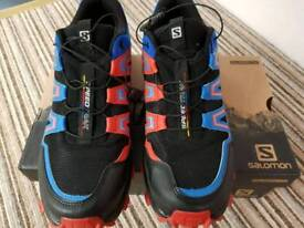 Salomon Trail Running Shoes. Used ONLY Once. UK Size 9