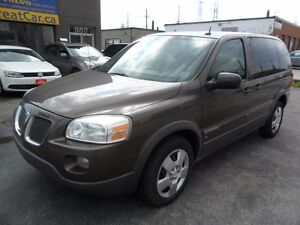 2009 Pontiac Montana CERTIFIED, LOW KMS, NEW TIRES, COLD AIR, 7P