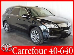 2015 Acura MDX SH-AWD Navigation Cuir+Toit Ouvrant 7 Passagers