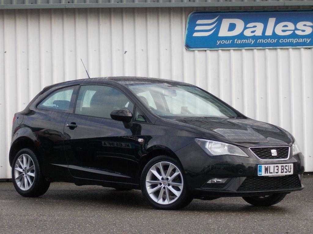 seat ibiza 1 4 toca 3dr hatchback metallic phantom black 2013 in newquay cornwall gumtree. Black Bedroom Furniture Sets. Home Design Ideas