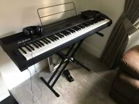 Digital Piano with Hammer Action Weighted Keys