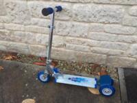 Boys fold up scooter