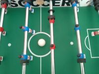 Football table suitable for younger children