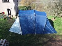 coleman lakeside classis 4 person tent. Used twice and in good condition