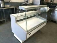 commercial serve over counter fridge deli display fridge cake fridge catering equipment