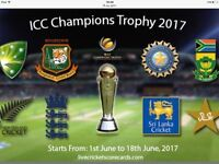 India v South Africa India v Sri Lanka icc champions trophy tickets 2017