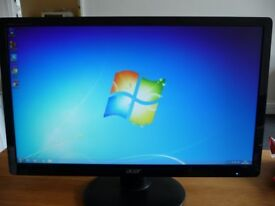 acer 22 in 1080p hd monitor may drop off