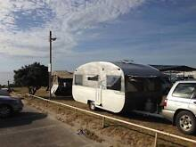 Vintage Renovated Polished Aluminium Caravan Norton Summit Adelaide Hills Preview