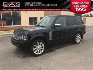 2008 Land Rover Range Rover Supercharged Navigation/Leather/Sunr