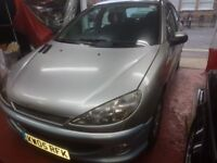 PEUGEOT 206 VERY LOW MILEAGE WITH SERVICE HISTORY