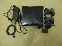 X Box 360, 250gb incl 21 Games and 2 Controllers