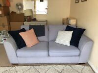 Grey 3 seater sofa OPEN TO OFFERS